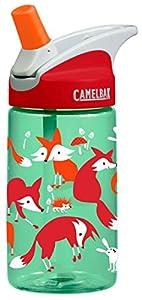 CamelBak Kid's Eddy Water Bottle, Foxes, .4-Liter