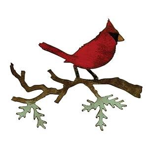 Sizzix Bigz Die - Christmas Cardinal by Tim Holtz
