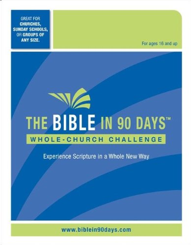 The Bible In 90 Days: Whole-Church Challenge Kit