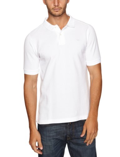 Dockers Fitted Pique Polo Men's Shirt Paper White X Large