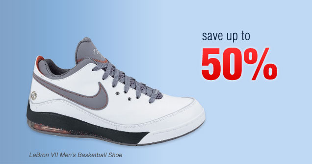Nike Shoes Up to 50% Off