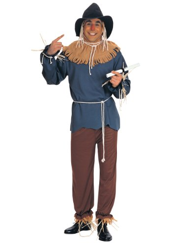 Rubies Mens The Wizard Of Oz Scarecrow Theme Party Fancy Dress Costume
