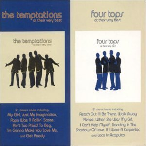 Four Tops - At Their Very Best By Four Tops & The Temptations - Zortam Music