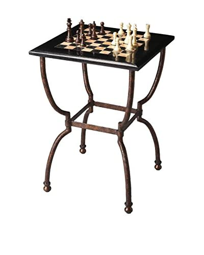 Butler Specialty Company Game Table, Metal/Black
