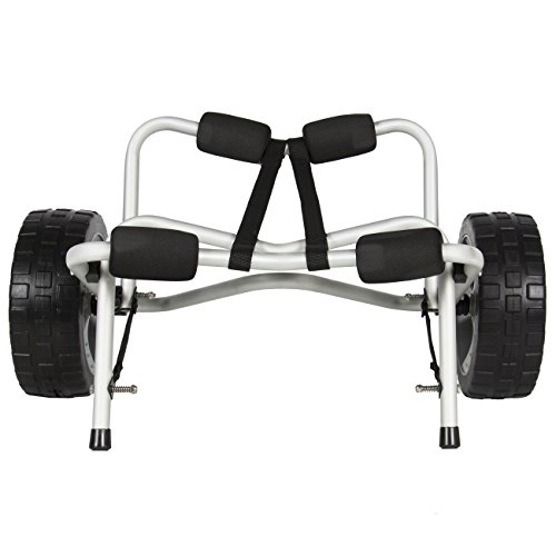 Best-Choice-Products-SKY1251-Boat-Kayak-Canoe-Carrier-Dolly-Trailer-Tote-Trolley-Transport-Cart-Wheel