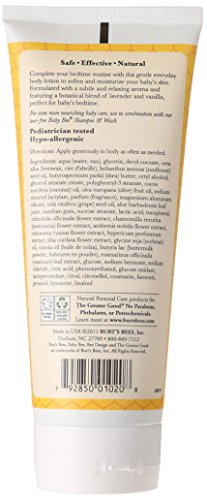 Burt's Bees Baby Bee Calming Lotion, 6 Ounce (Packaging May Vary)