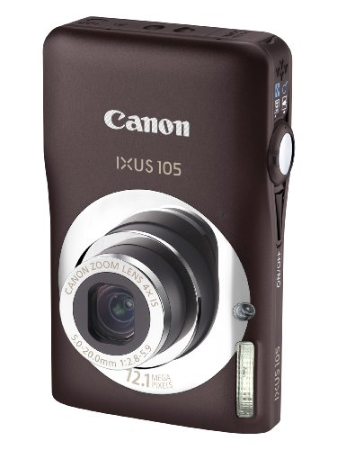 canon-ixus-105-digital-camera-brown-121-mp-4x-optical-zoom-27-inch-purecolor-lcd