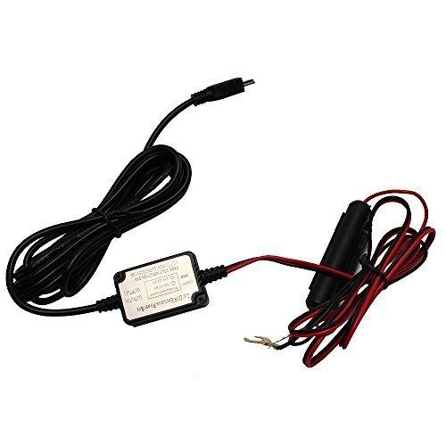 SIV Dash Camera Vehicle Hard Wire Kit - Mini USB Compatible with G1w / G1w-C / G1WH / GT680W / Mini 0801 / Camera and More | Car DVR Camera Recorder Dashboard Dashcam | Black Box Video Recorder | (Car Mini Dashboard Camera compare prices)