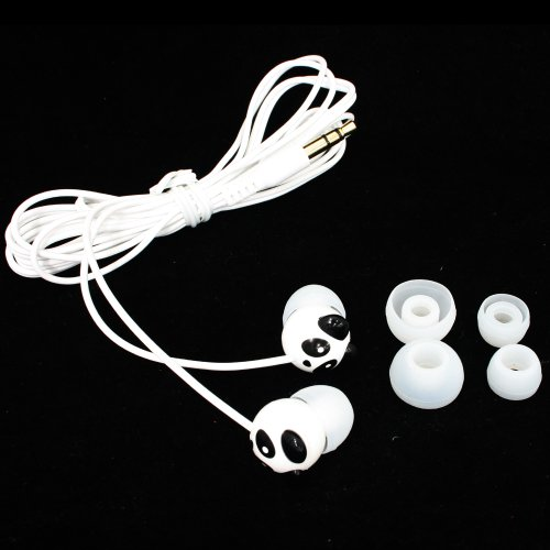 Panda Clear Mega Bass Brother Bear Design Isolating Crystal Sound Earphone