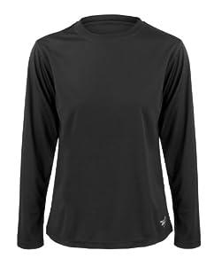 Time To Run Women's Favourite Long Sleeve T Shirt Size 12 Black