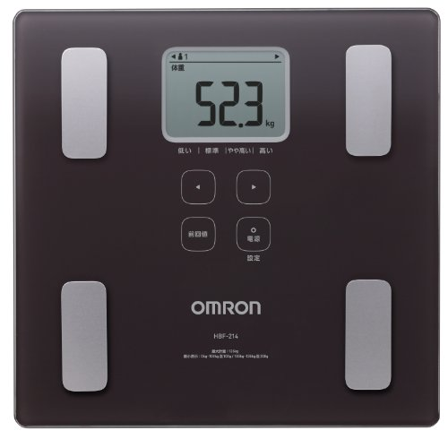 Cheap Omron KARADA Scan Body Composition & Scale | HBF-214-BW (Japanese Import) (HBF-214-BW)