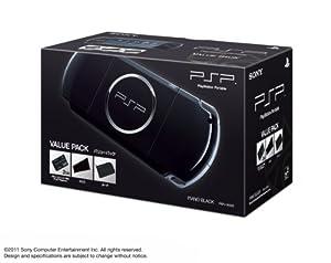 PSP「プレイステーション・ポータブル」バリューパック ピアノ・ブラック (PSPJ-30023)