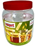 Sunpet Large Red Top Plastic Food Storage Canister 1000ml