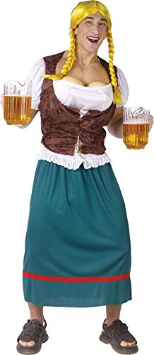 Bavarian Beauty with Beer Tap Bust Plus Size Adult Costume Miss Oktoberbreasts