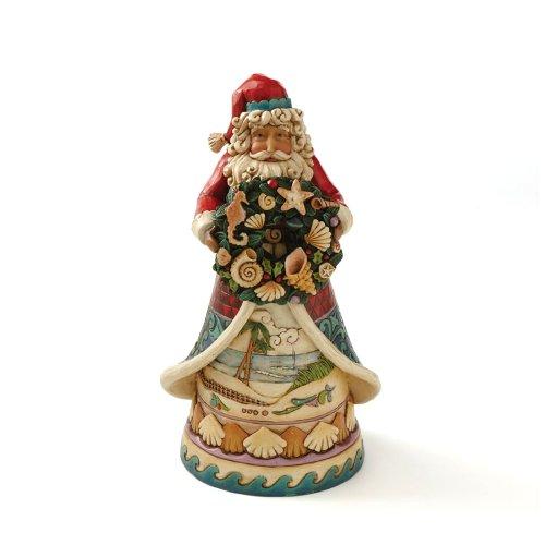 Jim shore heartwood creek from enesco beach santa figurine