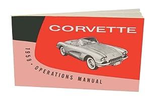 amazon com 1959 corvette owners instruction   operating 86 Corvette 90 Corvette