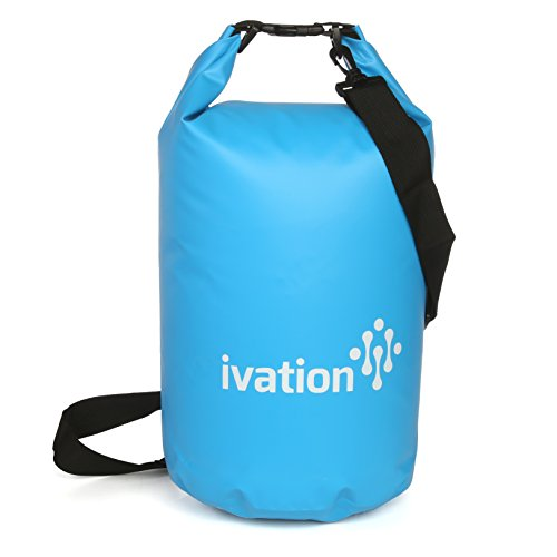 Ivation 10 Liter Waterproof Floating Dry Bag - Made Puncture-Proof