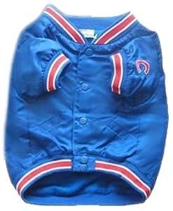 Sporty K9 Chicago Cubs Dugout Dog Jacket, Medium