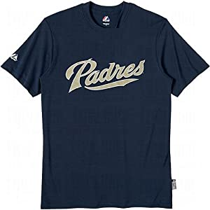 Adult XX-Large 100% Polyester Crewneck San Diego Padres Officially Licensed MLB... by Majestic