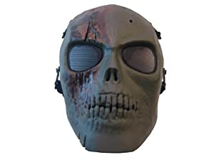 superstore Army Of Two Skull Airsoft Mask Green Brown Rios by superstore