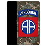 iPad 2 &#038; 3 Cover Military Design #10 (82nd Airborne Division) - Protective Leather and Suede Case