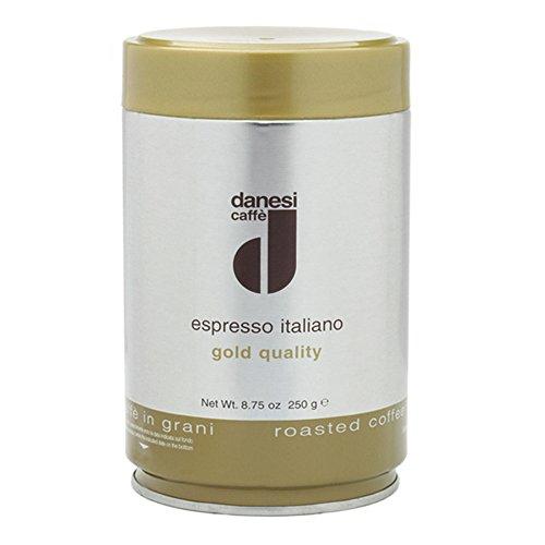 Danesi Caffe Espresso Italiano Gold Coffee Beans - 8.75 oz tin (1 tin - 8.75 oz Whole Beans) (Espresso From Italy compare prices)