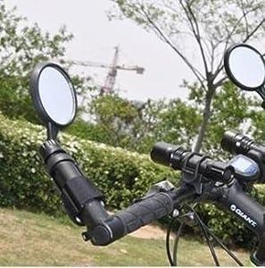 fahrrad r ckspiegel fahrrad reflektor fahrrad ein amazon. Black Bedroom Furniture Sets. Home Design Ideas