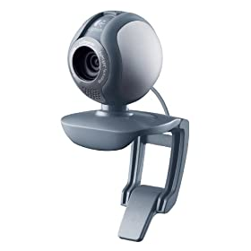 Logitech Webcam C500 – Silver [Amazon Frustration-Free Packaging]