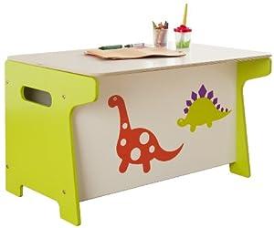 Millhouse - Coffre a jouets et bureau Dinosaure
