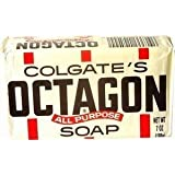 Octagon All Purpose Laundry Bar Soap by Colgate - 7 Oz (Pack of 5)