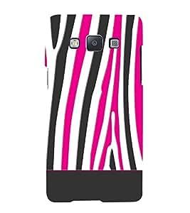 Zebra Art Fashion Cute Fashion 3D Hard Polycarbonate Designer Back Case Cover for Samsung Galaxy A3 :: Samsung Galaxy A3 Duos :: Samsung Galaxy A3 A300F A300FU A300F/DS A300G/DS A300H/DS A300M/DS