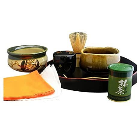 Mino Ceramic Ware Introductory Set Tea Ceremony [Japan Import] by N/A