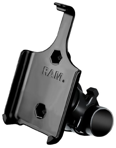RAM Mounting Systems RAP-274-1-AP9U Ram Mount EZ ON/OFF Handlebar Mount for Apple iPhone 4