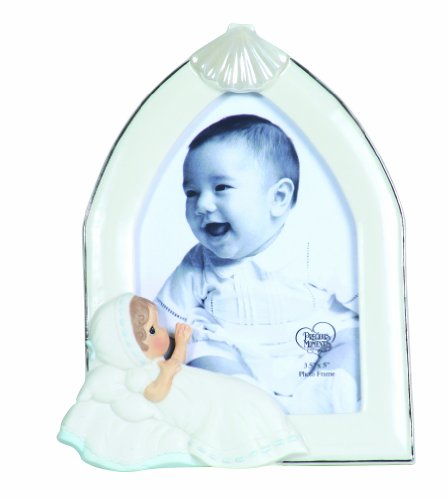 Precious Moments Baptism Boy Photo Frame