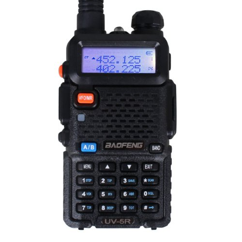 Best Buy! BaoFeng UV-5R 136-174/400-480 MHz Dual-Band Ham Radio (Black)