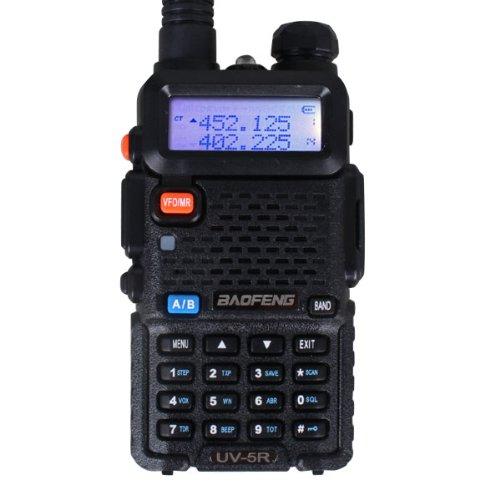Best Buy! BaoFeng UV-5R 136-174/400-480 MHz Dual-Band Ham Radio (Black)