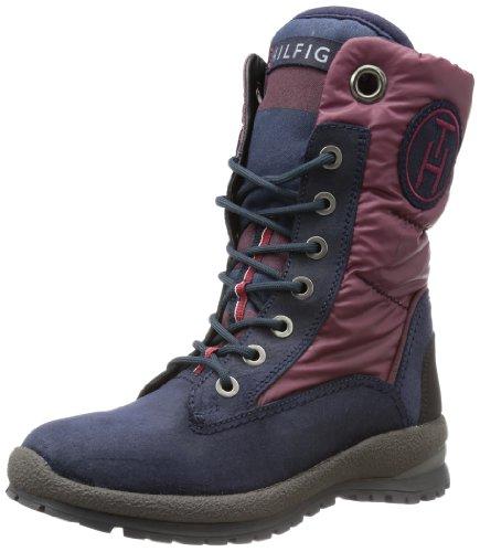 Tommy Hilfiger Womens BRITT 6 C Snow Boots Blue Blau (PORT ROYALE/MIDNIGHT 902) Size: 39