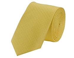 Tiekart Printed Men'S Tie (Skm105_Yellow)