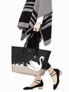 Kate Spade York On Pointe Swan Harmony Baby Bag, Black from Kate Spade New York