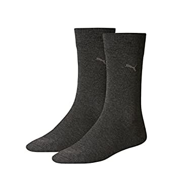 PUMA Herren Classic Casual Business Socken 12 Paar (39/42, Anthracite)