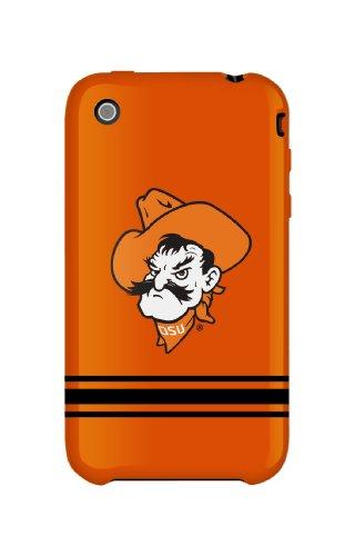 Uncommon Llc Deflector Hard Case For Iphone 3G - Oklahoma State University Sport Stripe - Retail Packaging - Orange/White/Black