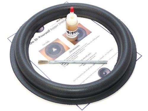 "Audioque 12"" Tall Roll Subwoofer Foam Surround Repair Kit - Sd2 Audioq Aq - 12 Inch"