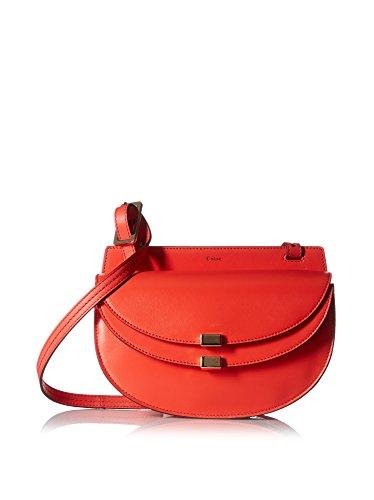 Chloé Women's Georgia Mini Bag, Poppy Red
