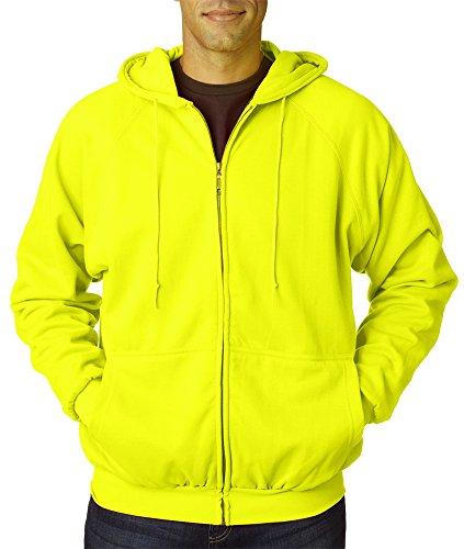 Ultra Club Adult Rugged Wear Thermal-Lined Full-Zip Jacket, 4XL, Lime (Ultra Club Thermal compare prices)
