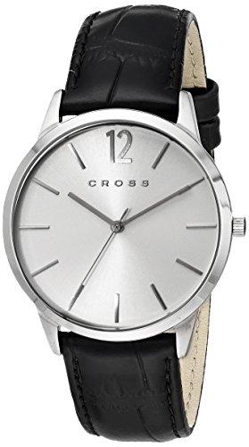 Cross Men's CR8015-02 Franklin Medium Analog Display Japanese Quartz Black Watch