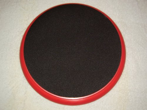 Lowest Prices! Padded bucket lid/seat (Red) by Bucket Lidz (Red frame/black pad)