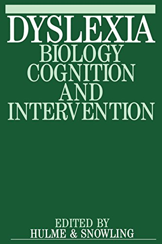 Dyslexia: Biology, Cognition and Intervention (Exc Business and Economy)