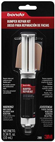 Bondo 280 Epoxy Bumper Repair Syringe Kit - 0.34 fl. oz.