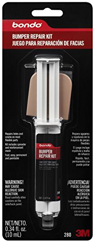Bondo 280 Epoxy Bumper Repair Syringe Kit - 0.34 fl. oz.