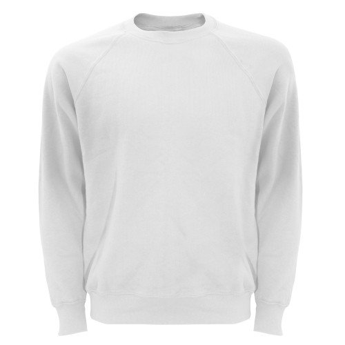 Fruite of the Loom Raglan Sweatshirt, Weiß, Gr.M M,Weiß